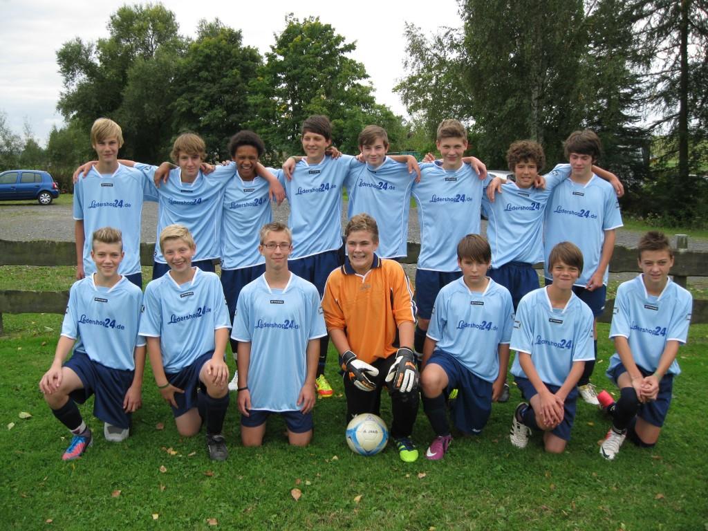 Mannschaftsfoto C-Junioren JFG-HW 2012-13